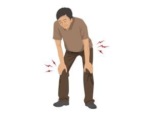 膝の痛み(男性)