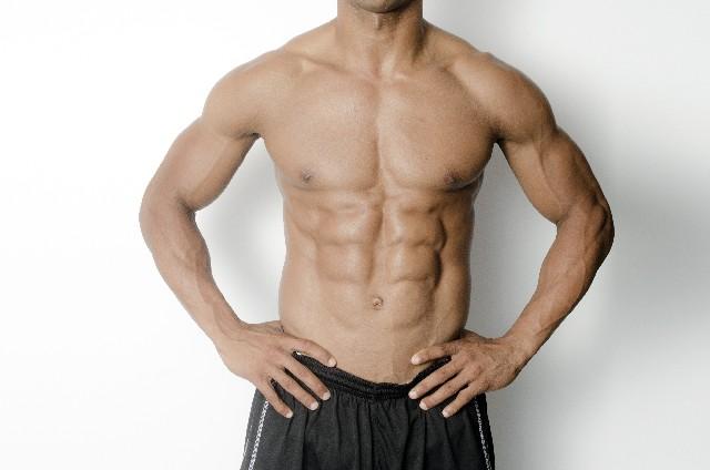 シックスパック筋肉