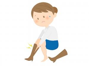 坐骨神経痛と足のむくみ