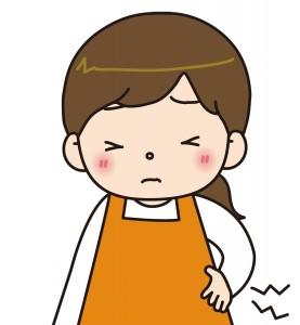 腰痛と妊婦さん