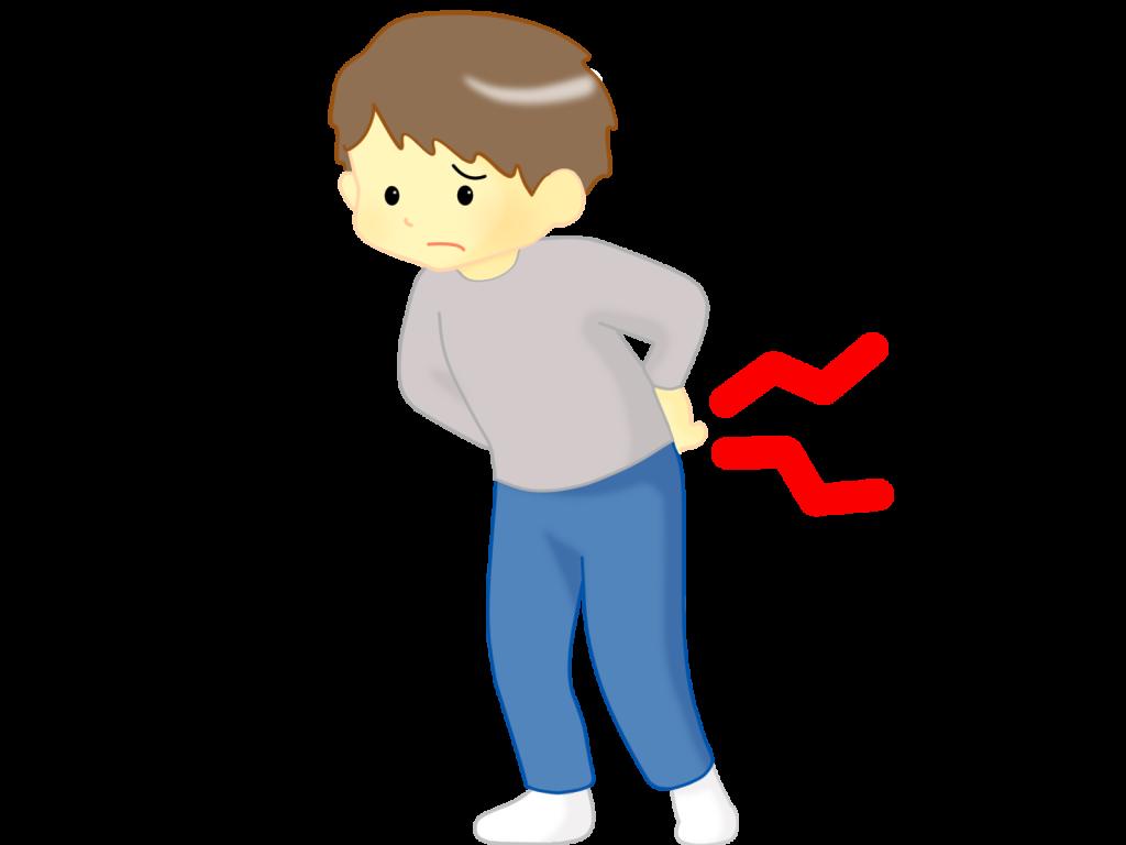 子供の腰痛の症状