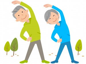 ストレッチ体操を続け腰痛を改善しよう